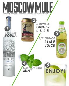 Moscow Mule - delicious and refreshing!!