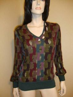 Missoni 2 Piece Wool Knit Size 38 Nebbia Darker Colors Unisex   eBay