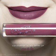 Colourpop Ultra Matte Lip - Are & Be Application - 5 | Pigmentation - 5 | Longevity - 5 | Texture - 5 | Packaging - 5 | Overall - A+ Application was extremely smooth with great pigmentation. It felt very comfortable on the lips and was mostly transfer proof. After lunch there really was hardly any fading and it wore really well during the day. After dinner the center faded a little bit as well as the corners of my mouth. I do think there was a bit of staining again, but not as bad as some…