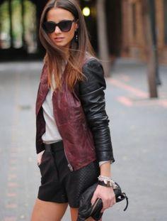 New York Fashion Week Street Style Herbst 2013 - jetzt bei FashionVestis erhältlich.