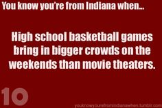Basketball and Football, it never matters. As long as theres a game on Friday night everyone shows.