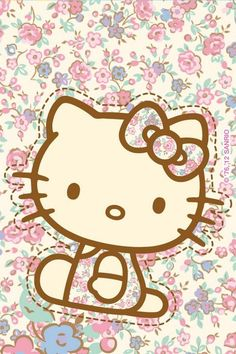 hello kitty, kitty, and vintage image