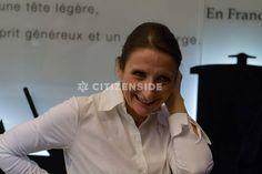 Paris : Anne-Sophie Pic entre au musée Grévin aux côtés de Pierre Hermé - Personnalités - via Citizenside France. Copyright : Christophe BONNET - Agence73Bis