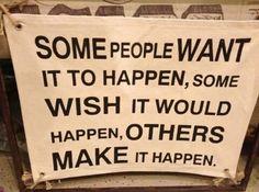 Make it happen!! #ourtime #wrapgirlmotto
