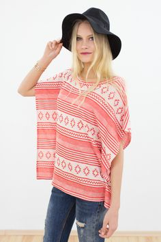 Fledermausärmelshirts - Top Felicia in korall - ein Designerstück von Shoko bei DaWanda