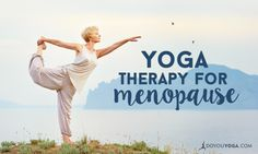 Menopause brings with it physical and hormonal changes that cause pain, anxiety and more. Here are ways to practice yoga for menopause discomfort relief.