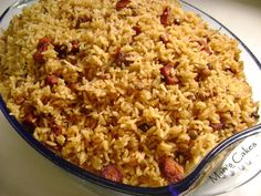 Rice with Pigeon Peas / MORO DE GUANDULES o ARROZ CON GUANDULES Dominican food.