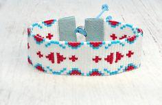 Seed Bead Bracelet - Womens Bracelet - Bohemian Bracelet - Hippie Bead Bracelet - Bohemian Jewelry - Gifts Under 30 - Gifts for Her Hippie Bracelets, Seed Bead Bracelets, Seed Beads, Loom Beading, Beading Patterns, 30 Gifts, Gifts For Her, Bohemian Style Jewelry, Native American Beading