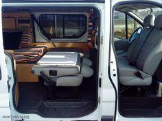 Opel Vivaro Camper 1.9 CDTI largo 6 plazas