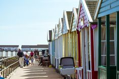 Southwold beach huts, Suffolk