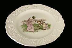 Decorative Plate Atlas China Company NY by MountainAireVintage