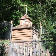 Church of the cock....chicken house