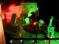 Halloween display setup at campground in August for their Halloween weekend. Campsite Decorating, Rv Decorating, Halloween Camping, Youtube Halloween, Halloween Displays, Hallows Eve, Trick Or Treat, Holidays, Make It Yourself