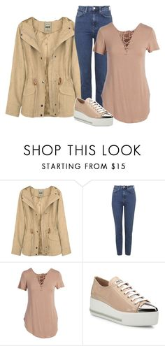 """Untitled... 244"" by thewexknd ❤ liked on Polyvore featuring Topshop, Universal Fashion, Miu Miu, casual, outfit, Random and nude"