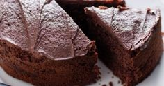 Ragi Dark Chocolate Cake Recipe - The sinful chocolate cake gets a healthy spin in this recipe with the use of ragi flour. The result is a soft, moist cake that will make it hard to resist reaching out for another piece.