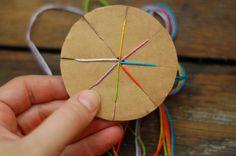 a case of the mundays: mon-DIY: woven frienship bracelet