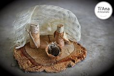 Cork Nativity Set