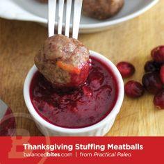 Thanksgiving Stuffing Meatballs – fastPaleo