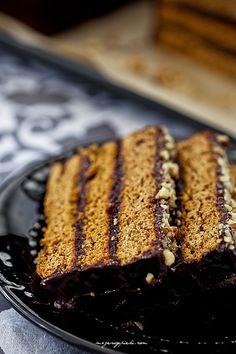 Piernik staropolski Banana Bread, French Toast, Sweets, Baking, Breakfast, Desserts, Food, Drinks, Recipes