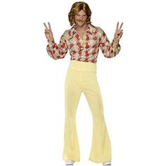 1960s Groovy Guy Costume  Medium  Chest Size 3840 ** Check out the image by visiting the link.