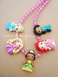 Love this little girl necklace. :)
