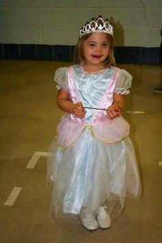 Love this cute princess!  #downsyndrome www.annas-angels.org