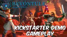 Bevontule Gameplay | Kickstarter Tactical Turn Based JRPG Demo 2018
