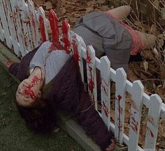 One of those brilliantly staged photographs from the film, Gingersnaps.