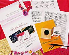 Calligraphy Learning Kit  Learn Calligraphy by StylishCalligraphy #calligraphy #learncalligraphy