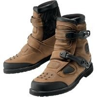 Mando / Bounty Hunter biker boots. Icon, Patrol Boot. Waterproof and gorgeous. #MOBrules. #Icon