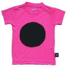 NUNUNU Patch T-Shirt neon pink