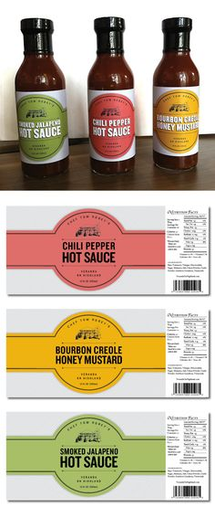 Veranda Hot Sauces - Kathryn Tanner Smoked Jalapeno, Jalapeno Chili, Salsa Picante, Label Design, Package Design, Logo Design, Food Packaging Design, Bottle Packaging, Cold Meals