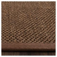 Avalon Natural Fiber Area Rug - Brown / Brown (9' X 12') - Safavieh, Durable
