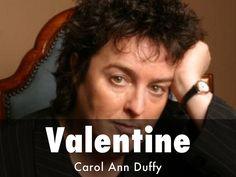valentine carol ann duffy i am trying to be truthful