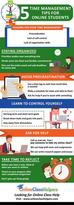 Time management is an essential skill that can help students improve their grades. Use your time productively by following these simple tips. If you're unable to manage your time, visit www.onlineclasshelpers.com and ask – 'Can I pay someone to take my online class?'   Contact Details for the Business:  OnlineClassHelpers 222 broadway New York, NY - 10038 United States 404-267-1498