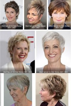 Short haircuts for women over 60 in 2021-2022 Short Pixie Haircuts, Pixie Bob, Pixie Hairstyles, Haircut For Older Women, Older Women Hairstyles, Hair Color For Women, Short Hair Cuts For Women, Haircut Images, Hair 2018