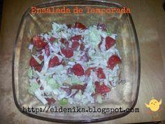 El blog de Nika: Enslada de jamón, repollo y tomate  http://eldenika.blogspot.com.es/2013/11/enslada-de-jamon-repollo-y-tomate.html