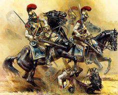 Carabiniers under fire
