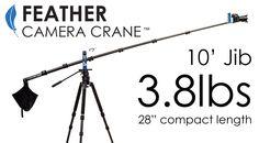 Feather Camera Crane | Lite Pro Gear, Ultra Light Production Equipment