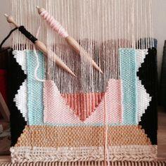 weaving inspiration | Weaving by Maryanne Moodie  www.maryannemoodie.com