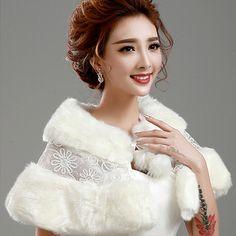 Prom Dress Fur Coat