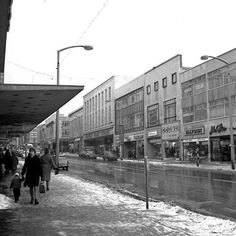 Sheffield City, Sheffield England, South Yorkshire, Old Photos, 1960s, The Past, Archive, Street View, Boat