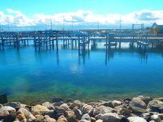 Mackinac Island Docks , Michigan USA  Photo by: Rima Baz