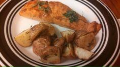 Rosemary Roasted Potatoes - neverthesamedish.com