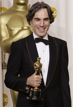 "Daniel Day Lewis won his 2nd Oscar for 2007: Best Actor - ""There Will Be Blood"""