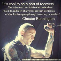 Lp quote Chester Bennington linkin park