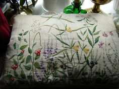 Typical Danish embroidery by storebukkebruse, via Flickr