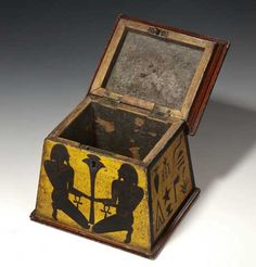 Antique Tea Caddy @ Sydney for Charm Collectors & Box Buffs