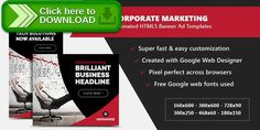 [ThemeForest]Free nulled download Corporate Marketing Banners - HTML5 Animated GWD from http://zippyfile.download/f.php?id=41031 Tags: ecommerce, ads, advertising, adwords, animated, banner designs, banners, business, corporate, doubleclick, finance, google web designer, html5, technology, templates, web banners