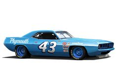 Richard Petty Challenger.  #RichardPetty